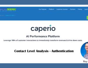 Contact Level Authentication